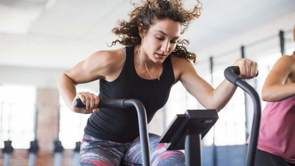 Elliptical HIIT workout