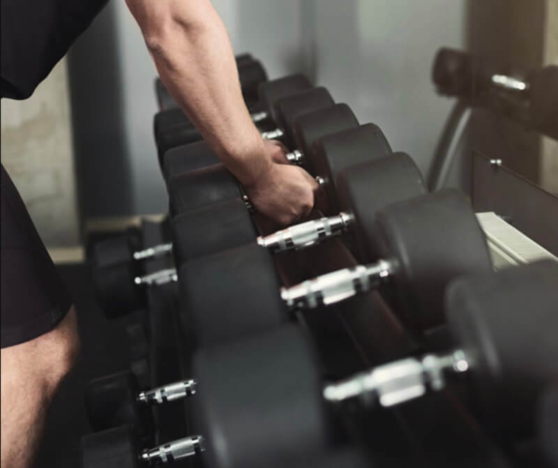 Dumbbells for your home gym