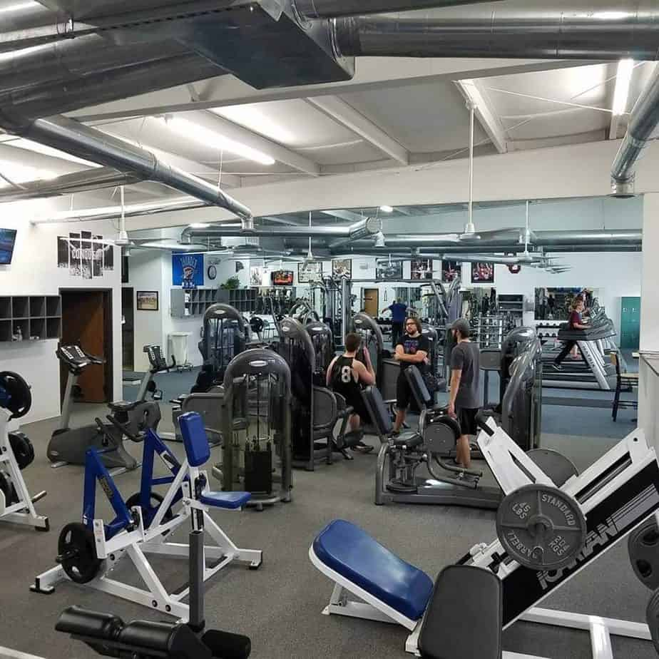 Gym with tight space