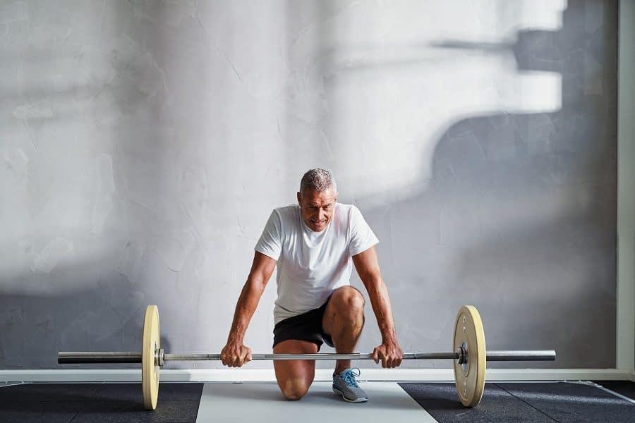 over 50 strength training