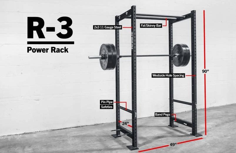Rogue R3 Squat Rack