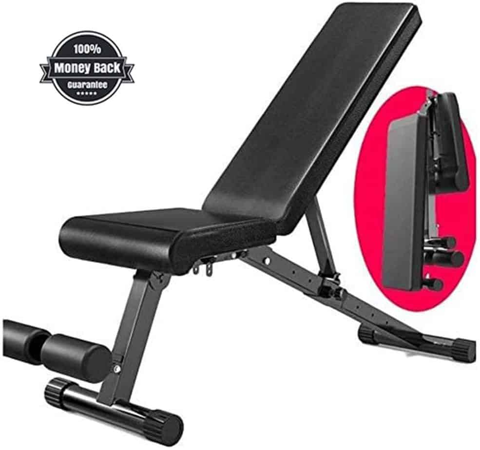 Incline adjustable Bench from Amazon